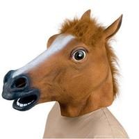 silicone Horse Head halloween mask Realistic Latex Animal Halloween Mask for Halloween party Cosplay
