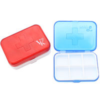 Customized Household Item Pill Box MOQ100PCS 0902015 One Year Quality Warranty