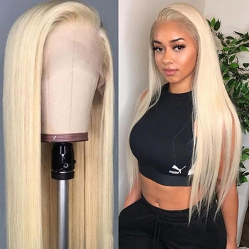 613 Lace Front Wig,613 Hd Lace Frontal Wig,Blonde 613 Full Lace Wig Human Hair