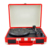 3-Speed Portable Bluetooth USB Recording Multiple Vinyl LP Player Turntable