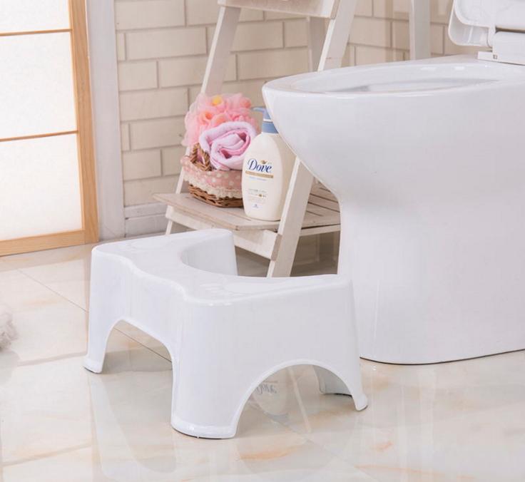 Портативный шаг помощи безопасности квалифицированные Squatty ванная комната утолщаются табуреты Туалет табурет