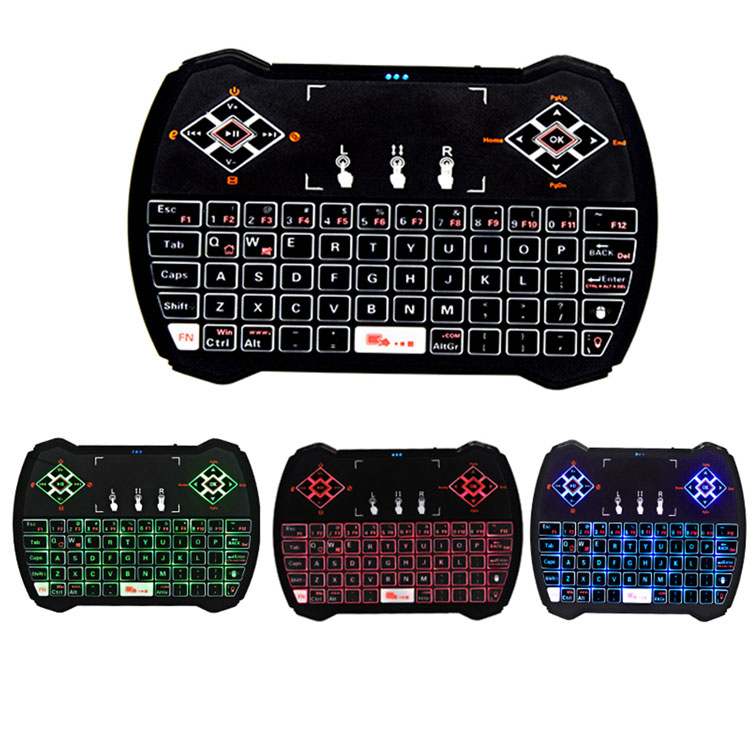 Chinese popular product i9 2.4G mini gaming computer wireless keyboard and mouse