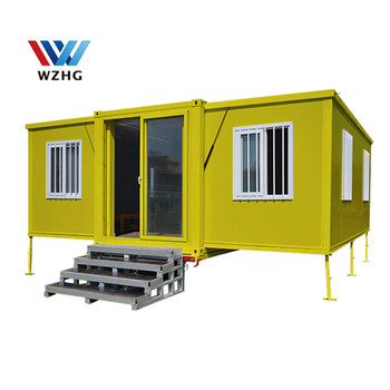 Expandable Solar Container Luxurious Prefabricated 20 Feet Expandable Container House 40 Feet Container House