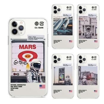 Fashion Street brand transparent soft silicone case For iphone 11 Pro 11Pro Max 8 7 6 6S Plus X XS MAX XR Case
