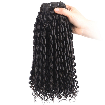 funmi curl hair 12A double drawn wholesale brazilian Funmi Bouncy curls hair product Pixie Curl hair 3 hundles