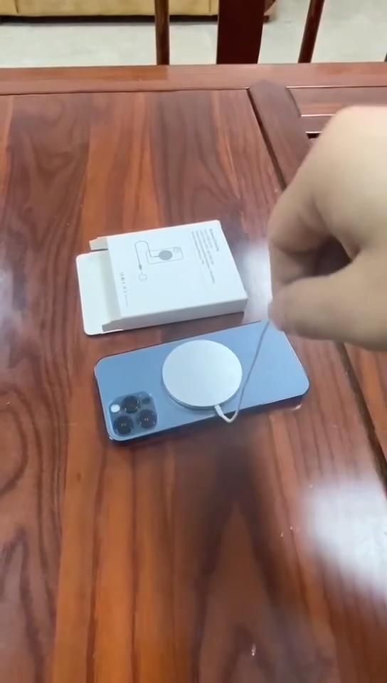 מיני נייד 15W מהיר מגנטי אלחוטי מטען Pad עבור iPhone 12 פרו מקסימום