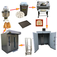 China Industrial Full Set Bread/Cake/Bakery Baking Equipment for Bread Production Line With CE Approval
