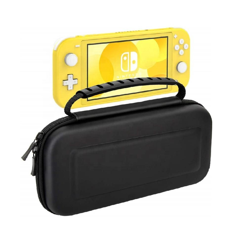 MoKo Protective EVA Storage Carrying Case with Grid Pocket for Nintendo Switch Lite Case
