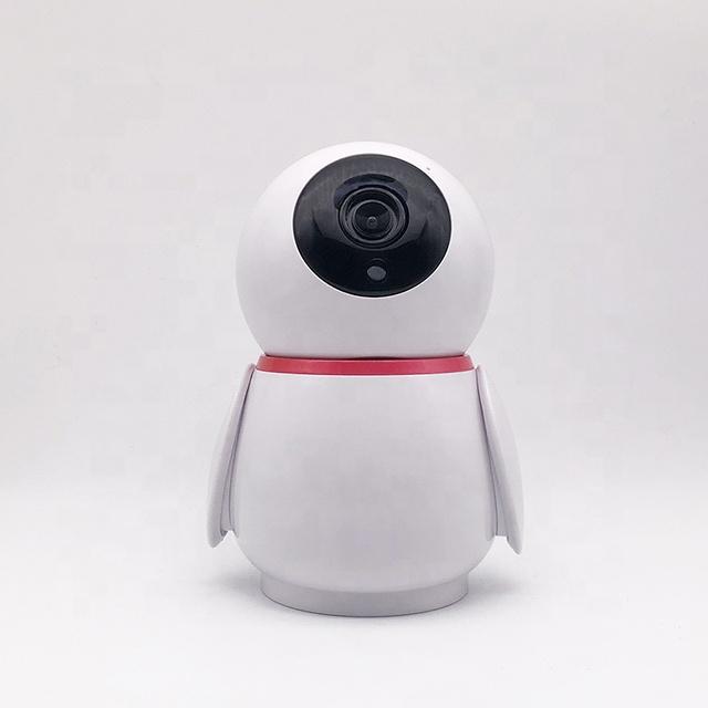 Akıllı vücut tasarım kablosuz su geçirmez 1080P HD video kamera 2-way ses konuşma WiFi ev güvenlik kamerası