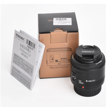 YONGNUO YN <span class=keywords><strong>EF</strong></span> 50mm f/1.8 AF Lens Diafragma Autofocus YN50mm f1.8 lens voor Canon EOS DSLR camera's