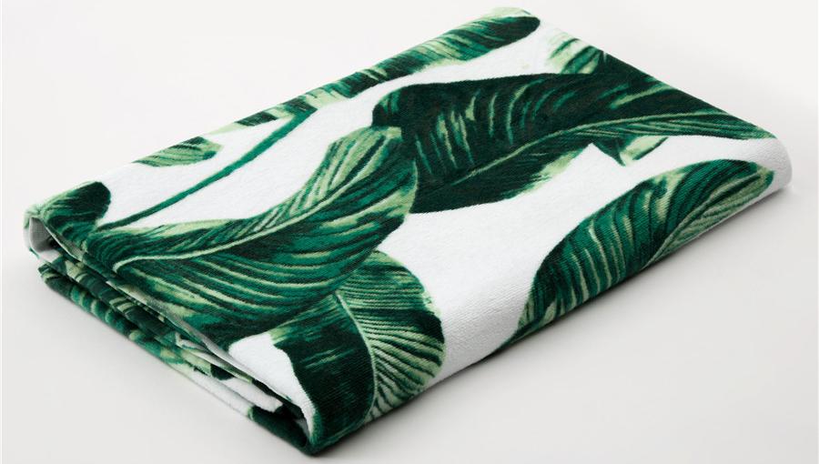 high quality wholesale soft Custom towels custom printed sport towel microfiber