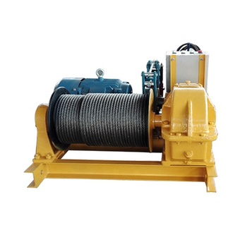 API Spec 7K Hydraulic Winch as Rig Accessories for Well Drilling