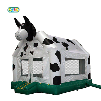 cow jumper inflatable bouncer jumping bouncing bouncy castle bounce house