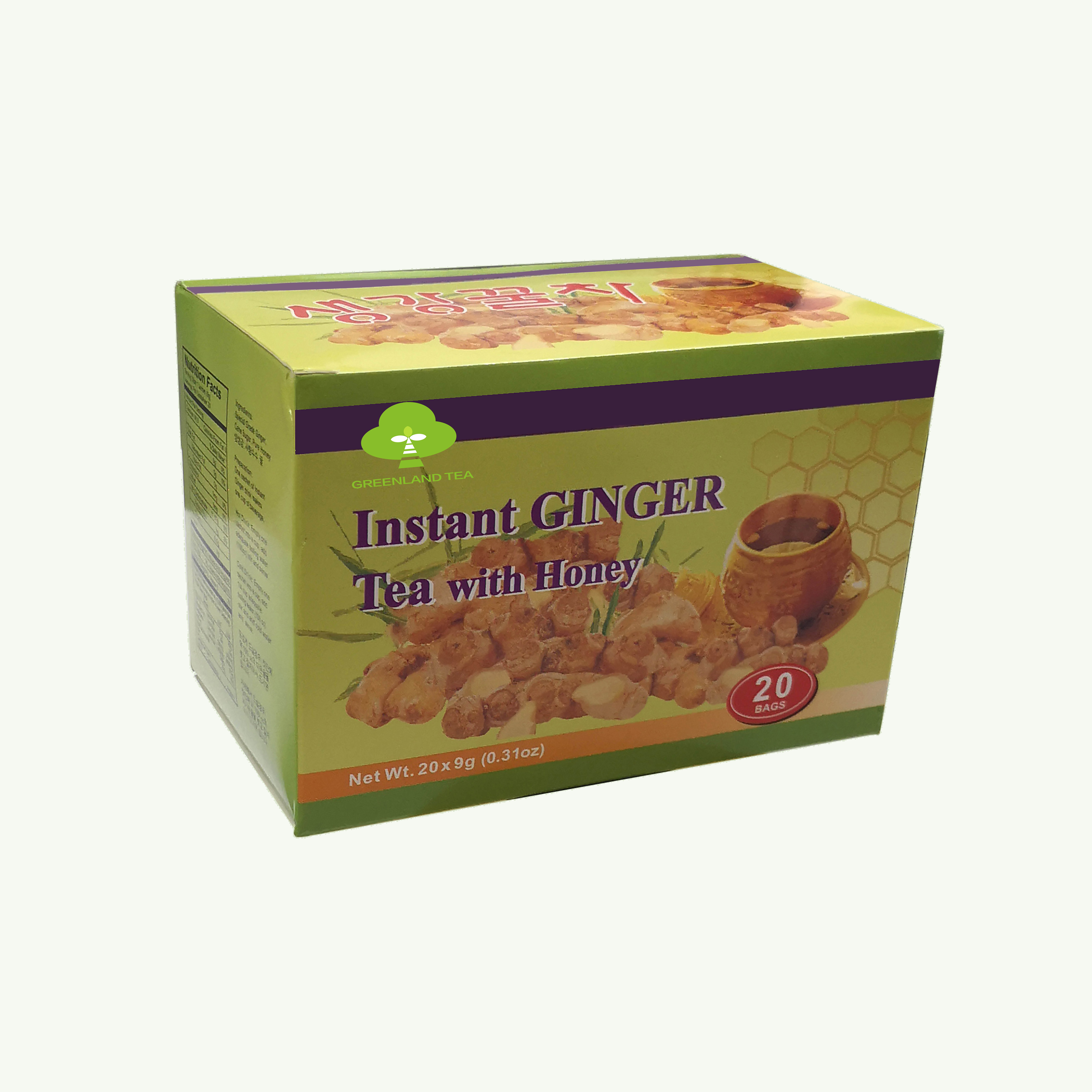 Good taste health chinese ginger tea with lemon instant drink - 4uTea | 4uTea.com