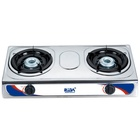 Home kitchen high quality cooking appliance best stainless steel commercial cooktop popular 2 burner gas stove price top