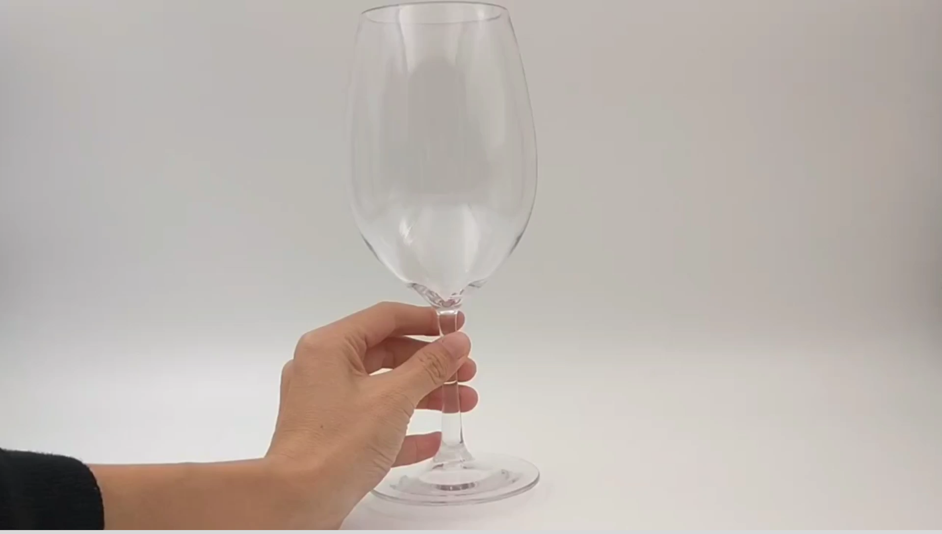 Cheap Luxury Custom Oversized Long Stem Plastic Wine Cup Big Unbreakable Wine Glasses Color Red Goblet Custom Plastic Wine Glass
