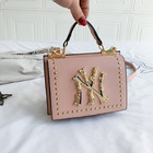 Ny Ny Purse Handbags 2020 Best Selling Ladies Famous Brands Designer Crossbody Women Women Hand Bags Luxury Rivet Square Shape NY Fall Purse