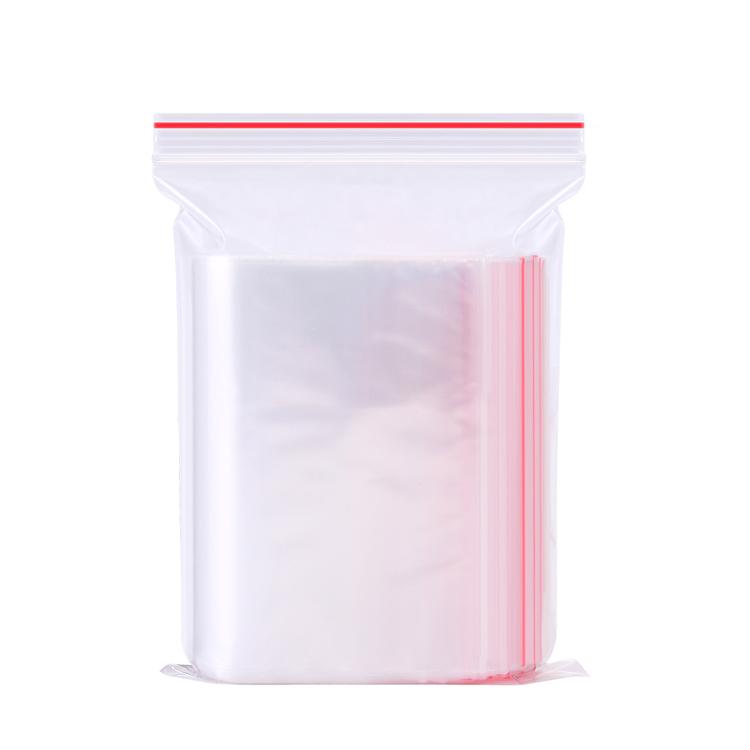 4x6cm cierre de cremallera bolsas de pl/ástico transparente agarre autoadhesivo de prensa polietileno Seal resellable bloqueo bolsa 1pack//–/100pcs.