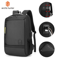 2020 Arctic Hunter Business USB Charging Laptop Anti Theft Trending Backpack Waterproof College School Travel Back Pack Backpack