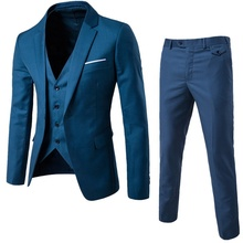 Custom 3 pieces Pant Coat Design Men Wedding Suits Pictures