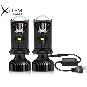 LED headlight MINI projector H4 90W 16000LM Conversion Kit Hi/Lo Beam Headlight LED