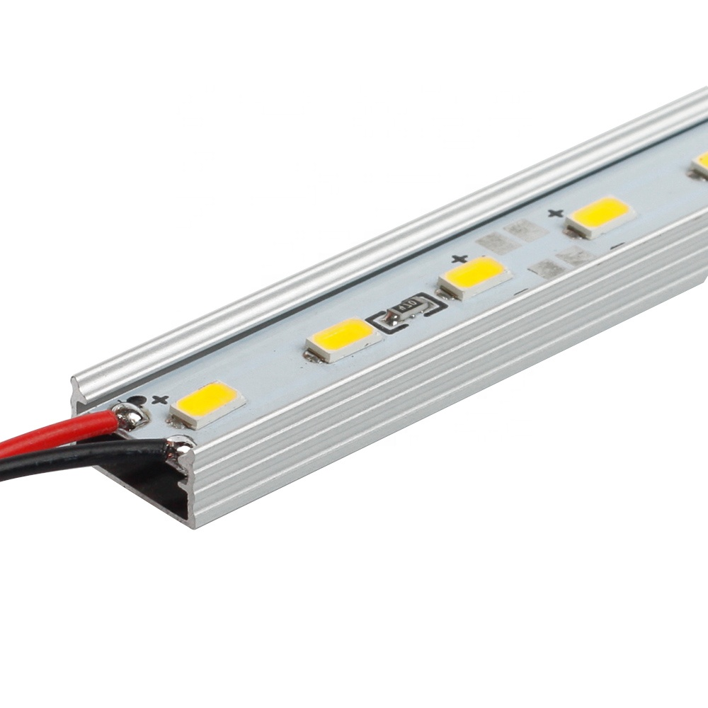 Best Quality 3 year warranty DC 12V/24V 60 leds/m SMD 5630 Rigid Led Strip Light Bar for office