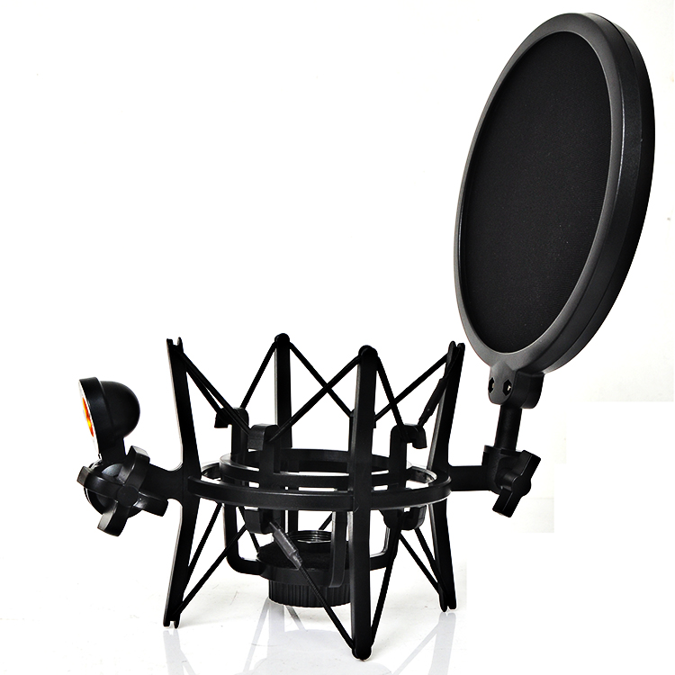 Outdoor bm800 mini microphone with setup stand condenser