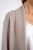 Pure Color Open Front Female Basic Knitting Cardigan with Pocket (4 colors)