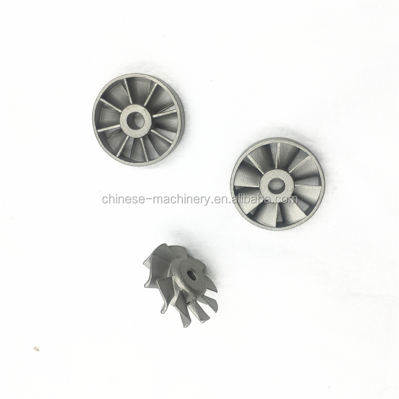 Custom Investment Casting Stainless Steel Non-standard Marine Water Pump Impeller