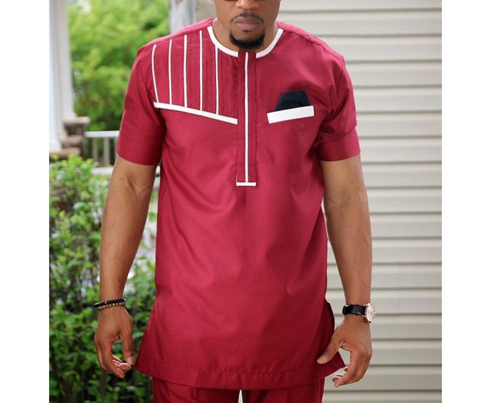 H & D Wholesale High Quality East African Clothing Patterns Pant Shirt Design For Men