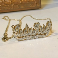 2020 new style for Women Personalized Jewelry nameplate necklace personalized