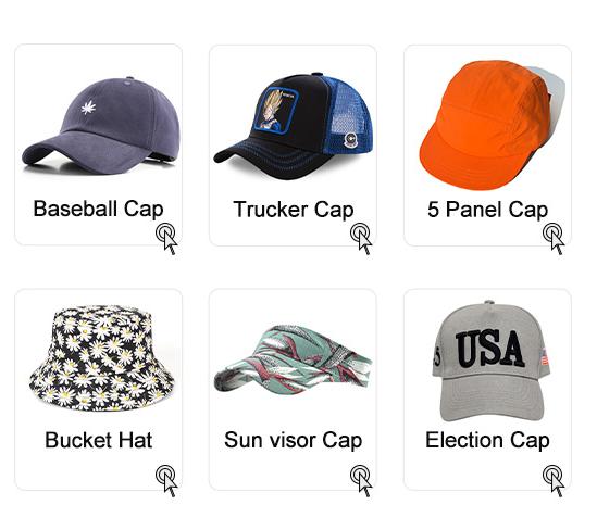 6 لوحة القطن قبعة رياضية مخصص قبعة لعبة الغولف شعار قبعة بيسبول
