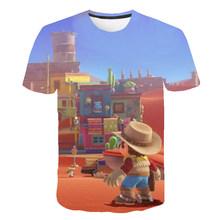 Детские футболки с мультяшным принтом Марио для малышей, детские летние Забавные футболки с аниме для мальчиков и девочек, топы для малышей(Китай)