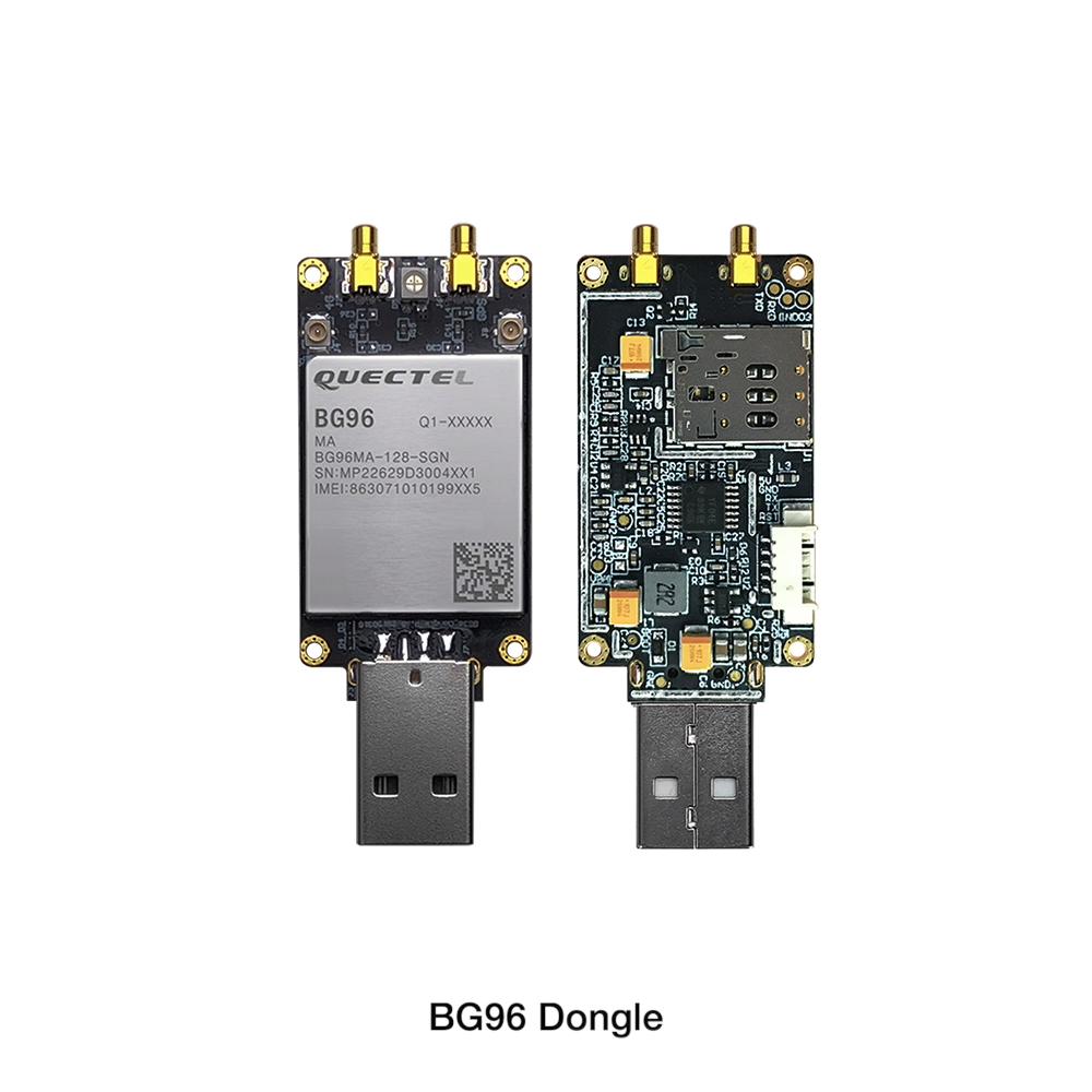 Nb-Iot Cat.M1/NB1 & EGPRS Modul LTE USB Dongle dengan Quectel BG96 Modem USB 4G