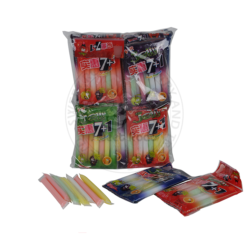 Susu & Buah Jelly Stick