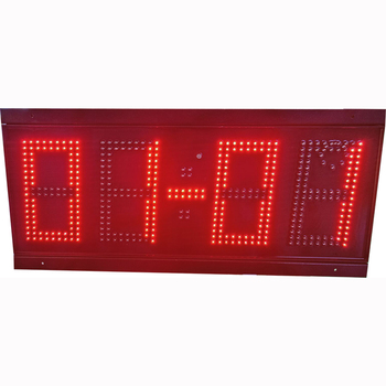 Led Large Screen Display 4 Digits Led Display Marathon Event Sports Outdoor Countdown Timer