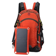 Sunpower Nilon <span class=keywords><strong>Ransel</strong></span> Tenaga Surya Hiking Back Pack