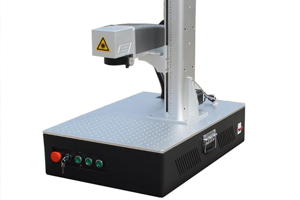 Hot Sale CNC Mini Sealed  Super Fiber Marking Machine For Marking Patterns