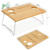 Bamboo Picnic Table cheese tray Portable and Foldable