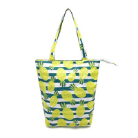 Eco friendly Recycled Womens Shoulder Zipper Waterproof Dupont Tyvek Small Tote Bags With Custom Printed Logo