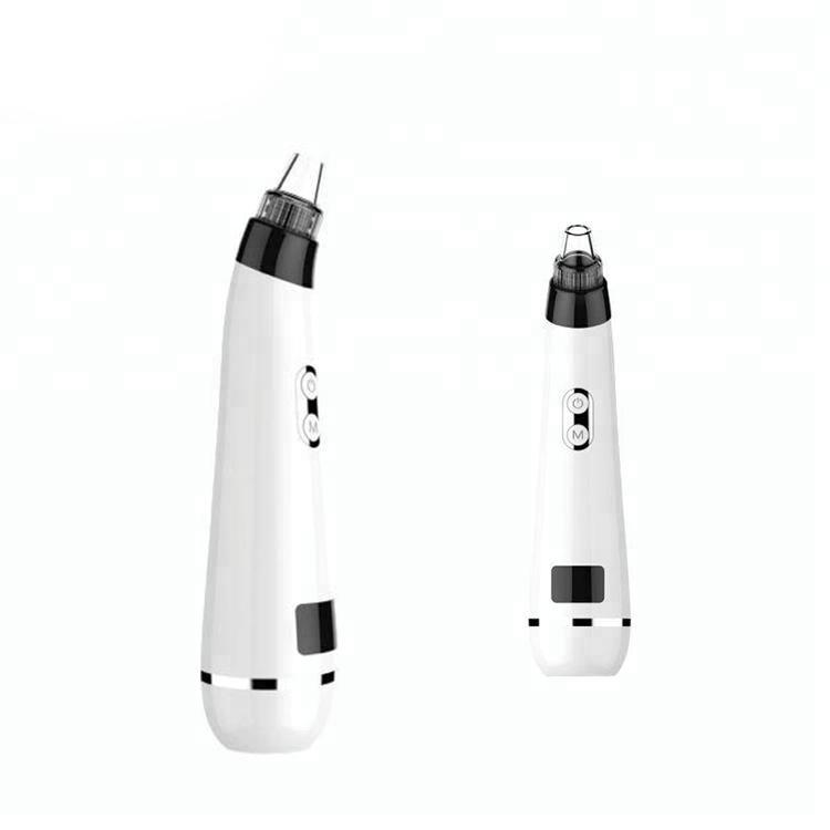 Portable Beauty Equipment Vacuum Suction Pores Cleaner Nose Blackhead Remover  Vaccum