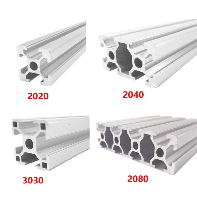 China Manufacturer Customized Aluminum Extrusion Profile T Slot Aluminium Profile