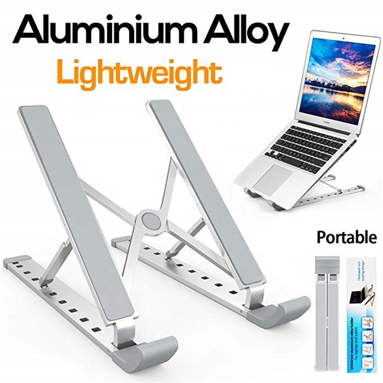 Portable Laptop Stand Aluminum Laptop Stand Adjustable Laptop Stand Foldable