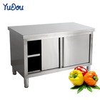 Commercial stainless steel loading Console Household sliding door workbench