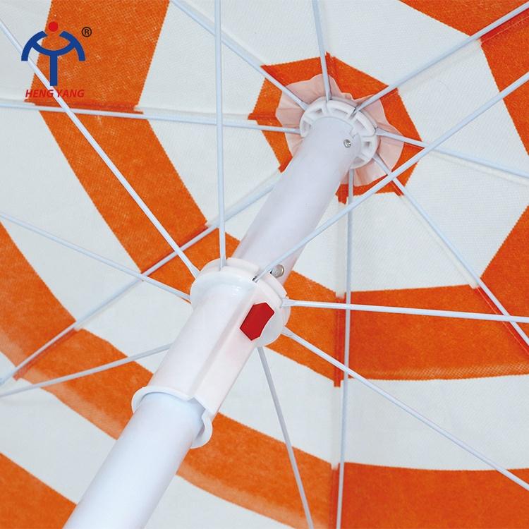 OEM Высокое качество Многофункциональный Легко работать водонепроницаемый печатных рекламных пляжный зонт