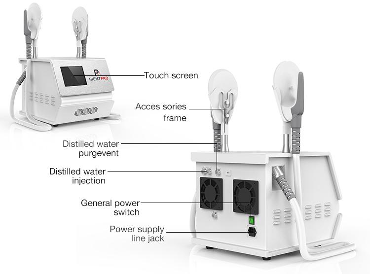 HCBEAUTY nouveau remodelage du corps minceur esthétique électromagnétique stimulation musculaire portable emsculpt machine