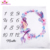 2019 Personalized in stock monthly Baby Girl Milestone 100*100 cm mermaid wholesale cheap photo props Blankets