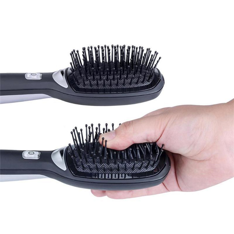 New Arrival Ionic Hair Brush Negative Ions Scalp Massage Comb Portable Electric Anti Static No more Frizz Hairbrush