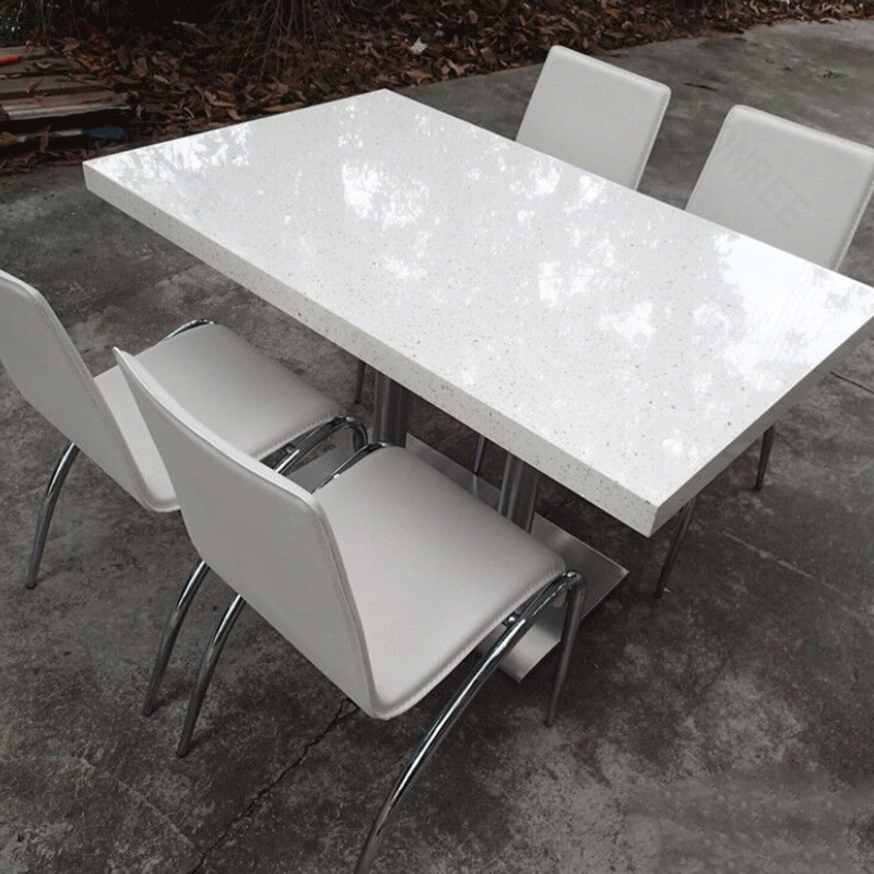 Custom Size Artificial Marble Stone Dining Table For Dining Room Furniture Buy Onyx Top Dining Table Dining Table Room Set Restaurant Sets Product On Alibaba Com