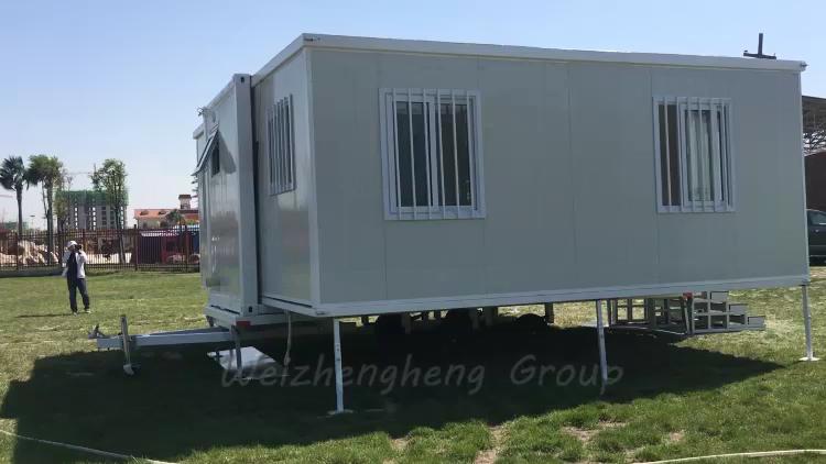 سعر المصنع الجاهزة موبايل 40ft الفاخرة حاوية قابلة للتوسع المنازل الشمس منزل العزل للبيع